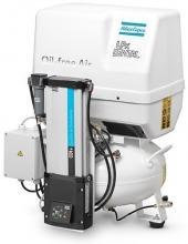 Поршневой компрессор Atlas Copco LFx 0,7 D 1PH на ресивере(24 л)
